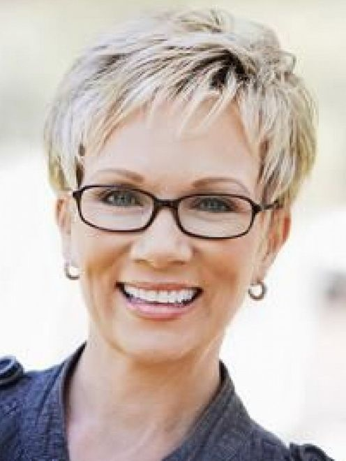 pictures of short hair cuts for women over 60 - Short