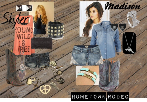 """Hometown Rodeo"" by abbycriswell ❤ liked on Polyvore"