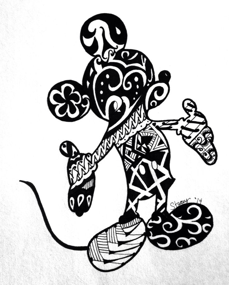 Disney Zentangle Coloring Pages : Best images about zentangle on pinterest