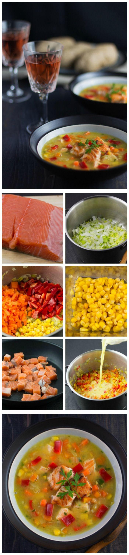 Simple Salmon Chowder