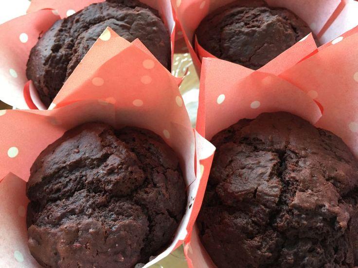 Vegane Rote Beete Schoko Muffins, Foto: Madame Belle Prairie
