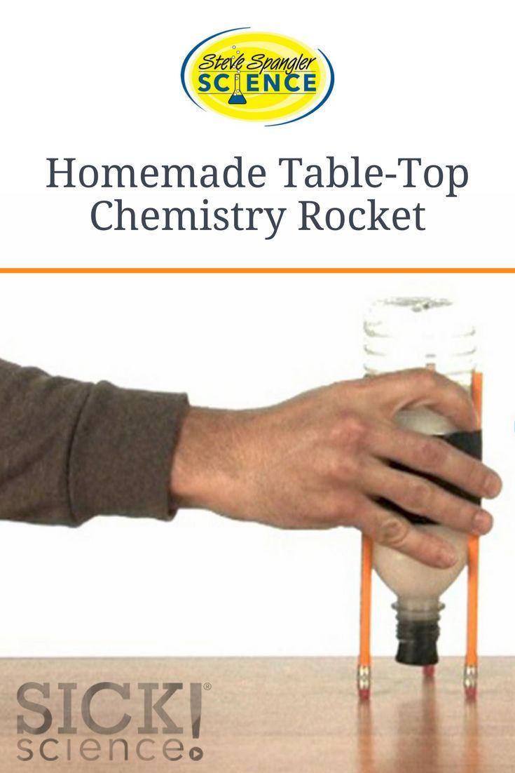 Chemistry Rocket (Acid/Base Reaction) – SICK Science Experiment