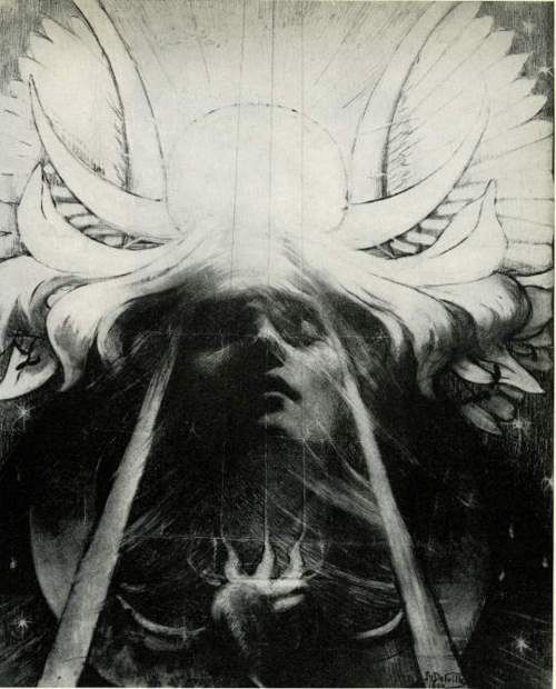 Parsifal by Jean Delville. 1890.
