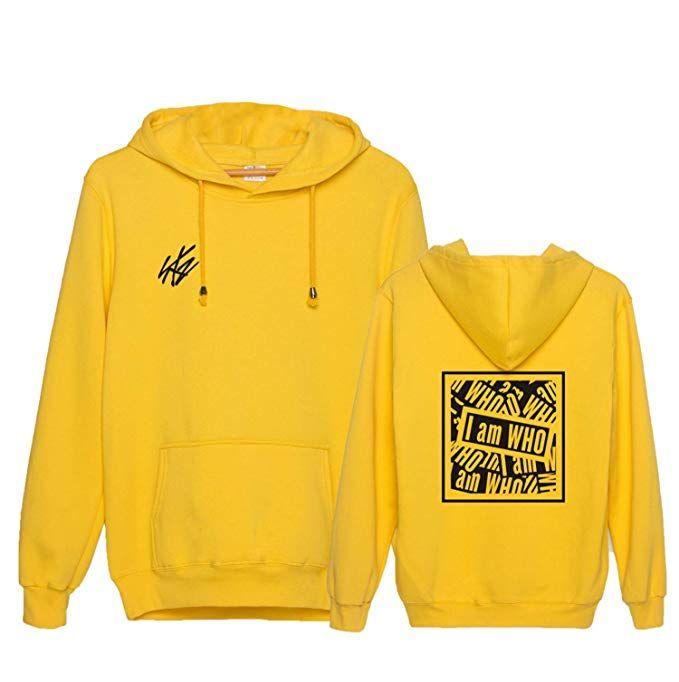 83a6e1504 babyHealthy Kpop Stray Kids I Am WHO Hoodie Bangchan Felix Hyunjin Jeongin  Jacket Pullover