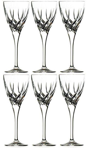 RCR Crystal Trix White Wine Glasses, Set of 6