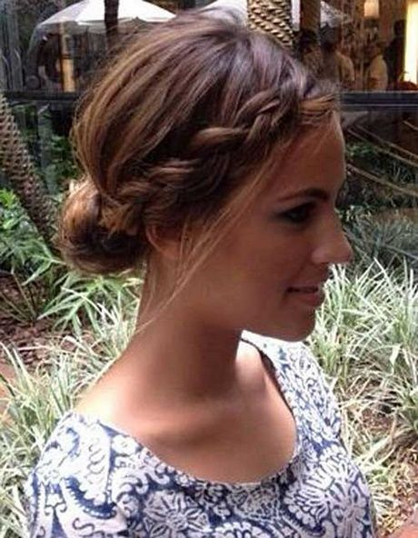 Schöne Hochsteckfrisuren #updo #hairstyles #besondereanlässe #kurzehaare #flec