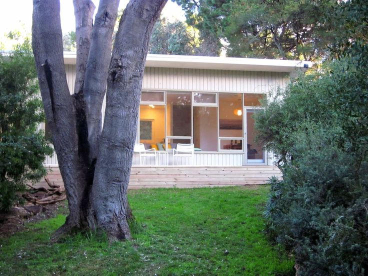 House in Phillip Island, Australia. Nestled amongst tall banksias on the lush, sheltered north side of Phillip Island, our hideaway is a truly peaceful escape just a few steps from the shoreline. Suitable for couples or small families, this is high quality on a small scale!        S...