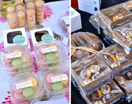 article about How to Have a Fabulous Bake Sale- cute cake packaging. Good for gift giving too