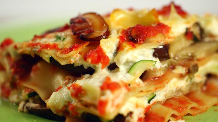 Healthy Eggplant Lasagna Recipe: Video - HealthiNation