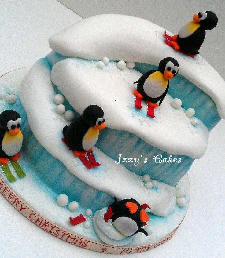 Pingu Cake! - For Gwyneth?@Rich Liu Buhn Smith