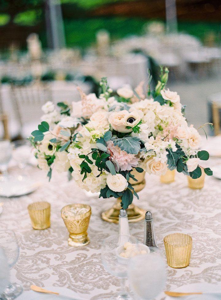 La Tavola Fine Linen Rental: Neiman Ecru   Photography: The Great Romance Photo, Event Planning & Design: CCL Weddings & Events, Floral Design: Peony & Plum, Vintage Rentals: Found Vintage Rentals, Tabletop Rentals: borrowed BLU
