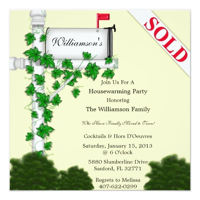 Best Housewarming Invitations Images On