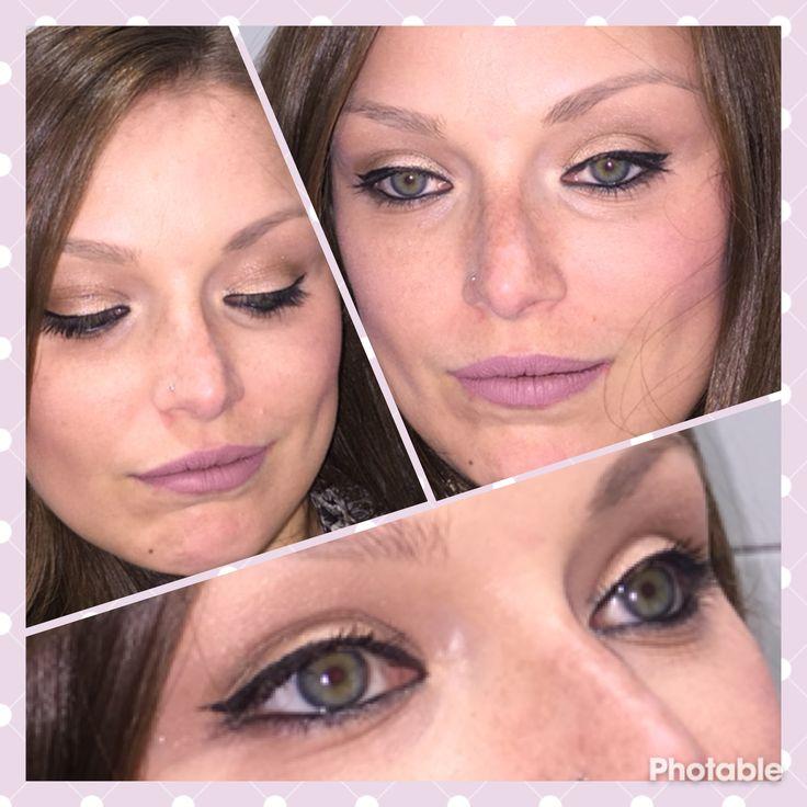 Make up del giorno 😊 #bellezzaprecaria #makeup #makeupdelgiorno #makeupoftheday #muotd #instamakeup #makeupaddict #makeuplook #makeuplove #makeupporn #look #me #myself #selfie