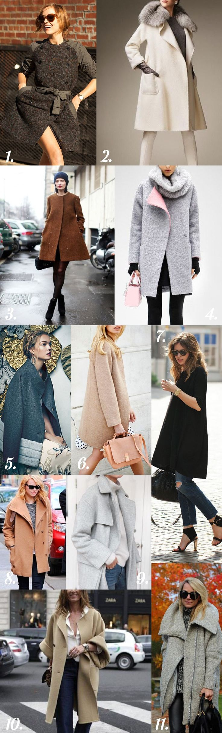 Clare Coat Sewing Pattern // Styling Inspiration