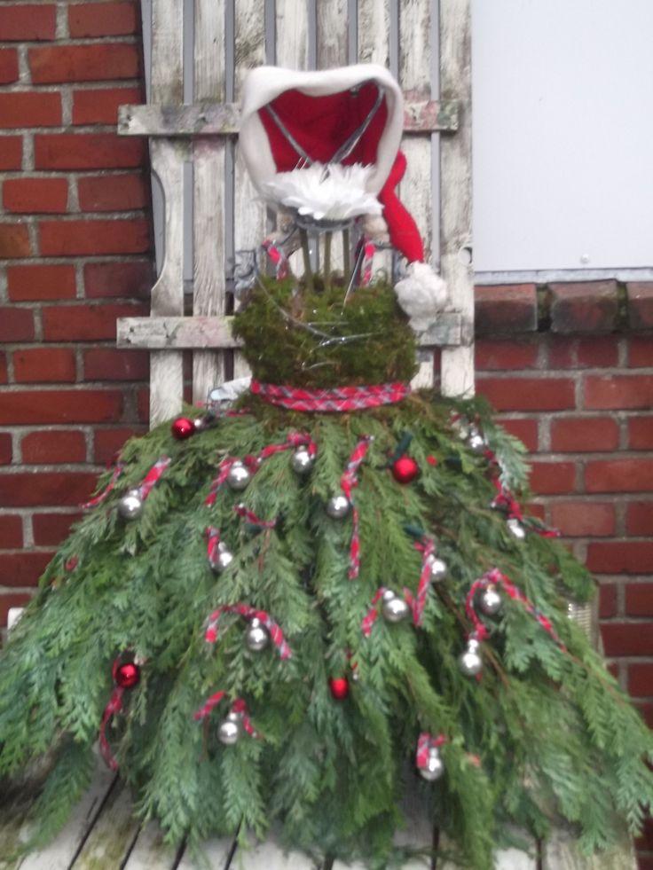 kerstjurk gemaakt door annelies merry christmas to everyone.