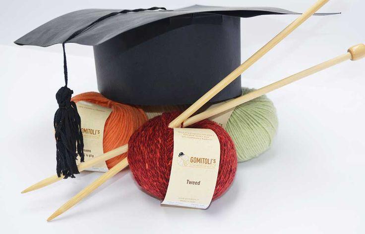 Siete alla ricerca di un nuovo punto che susciti l'ammirazione (e l'invidia) di tutte le altre knitters? E' arrivata la Knitting Accademy di Gomitoli's http://www.gomitolis.it/italian/news_sola.php?idnews=135
