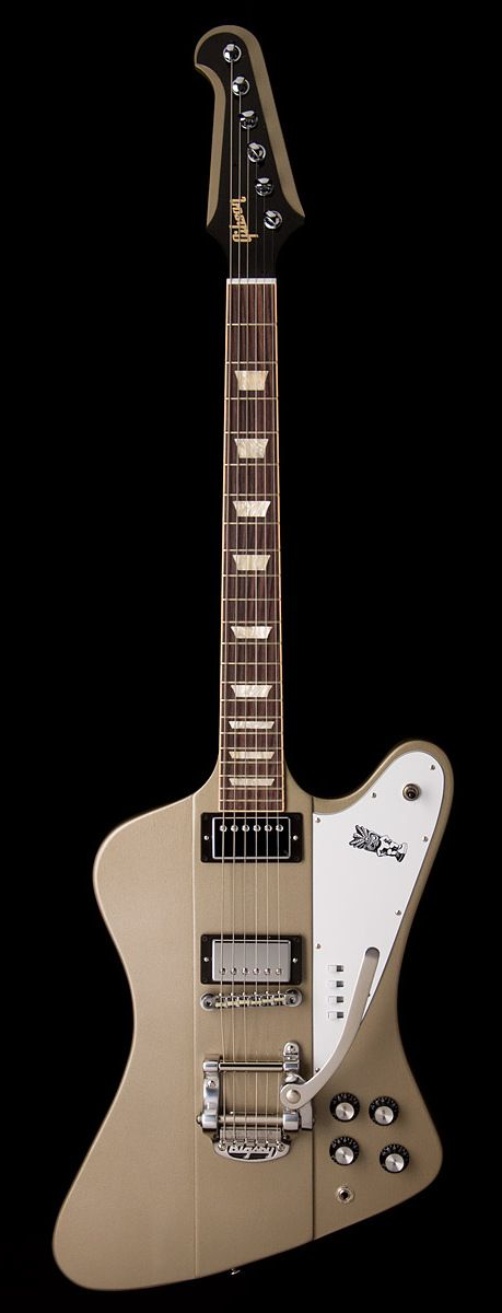 """GIBSON Elliot Easton """"Tikibird"""" Firebird Next to my CR8 Les Paul this is my favorite guitar I own! Thank you Elliot for a great guitar!"""