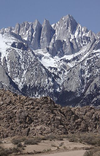 How to Hike Mount Whitney -- go with LSP!  He was a great guide in the mountains because he had a love for them and their Creator without bounds.  He also climbed them almost like a mountain goat....Pat