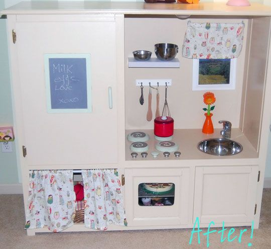 Play Kitchen Plans: 85 Best DIY Play Kitchens Images On Pinterest