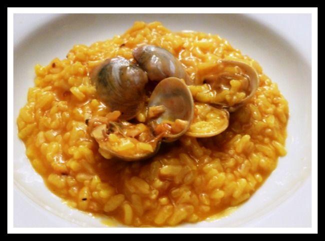 Arroz con almejas y gambas Thermomix una receta fácil de hacer y rápida, un arroz con marisco en Thermomix tanto caldoso como seco, al gusto.