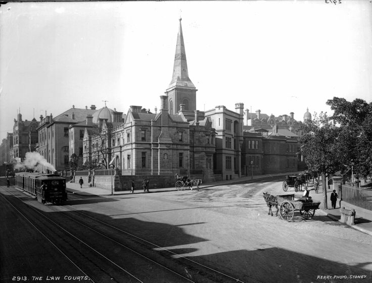 The Law Courts in Sydney in c1900.Photo from Dictionary of Sydney.A♥W