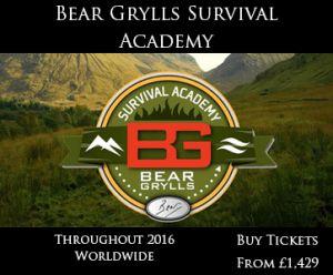 The Bear Grylls Survival Academy