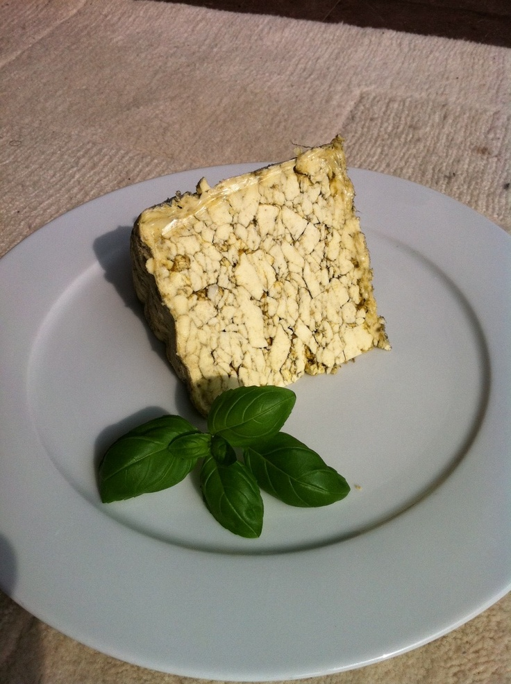 Home-made Sage Derby... Crumbly and fresh.