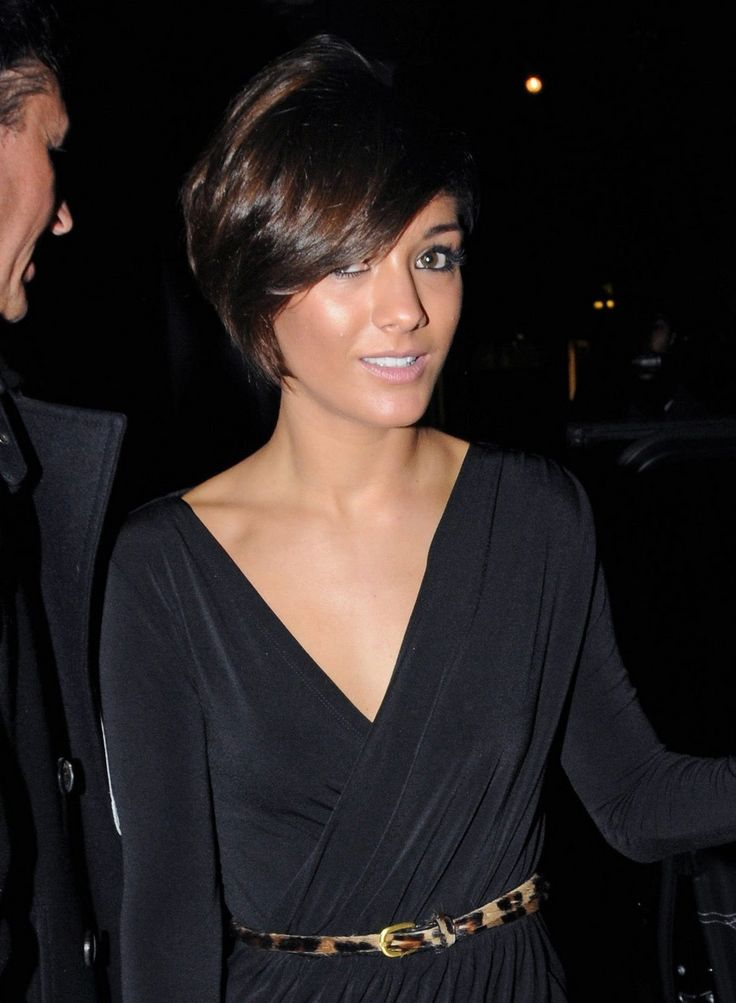 back view of asymmetrical bob hairstyle   ... Hair Styles ...