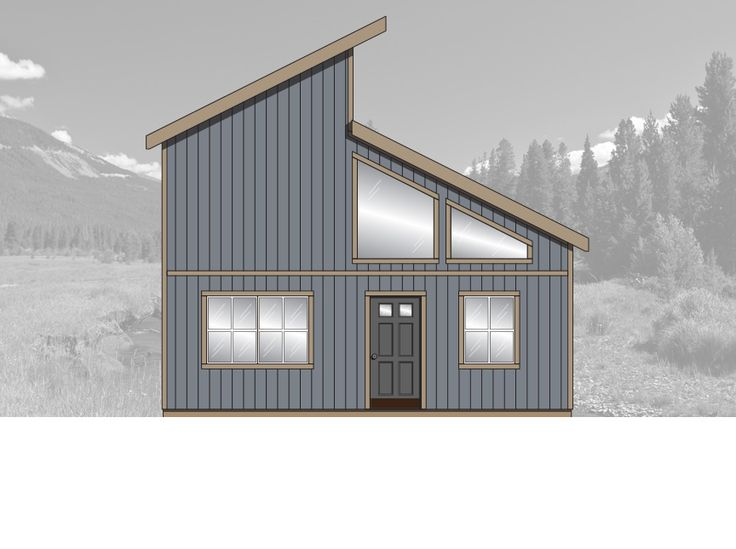 yukon tuff shed shell that is a 2br 2ba layout with
