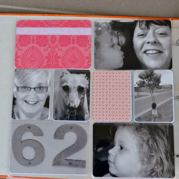 Project Life - First pages - who we are, where we live etc.