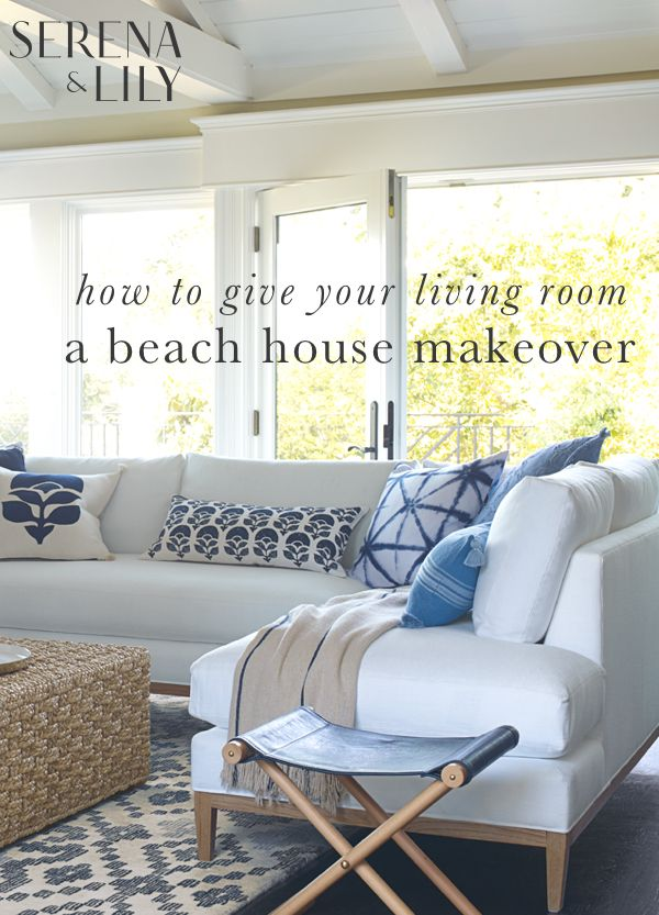 Give your living room a fresh new look. Coastal. Casual ...