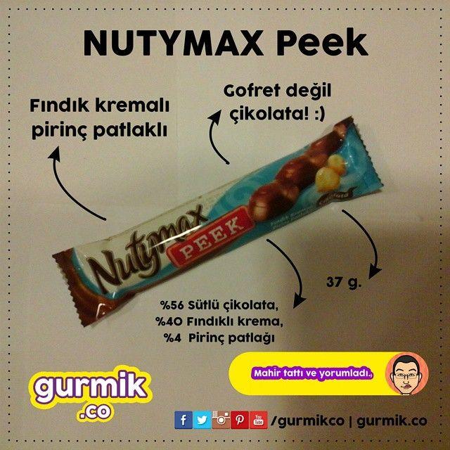 Şölen'den yeni çikolata: #Nutymax Peek. Genellikle dolgulu ve kaplamalı gofretlerini Nutymax adıyla satan Şölen, bu ürünle birlikte ilk Nutymax çikolatasını da piyasaya sürmüş oldu. 4 dolgulu çikolata...