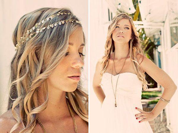 Wondrous Bohemian Bride Hairstyles Google Search Planning To Wed Short Hairstyles Gunalazisus
