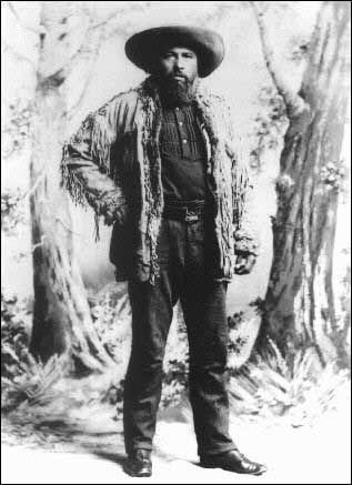 Gabriel Dumont, 1886. Photograph courtesy of the Buffalo Bill Historical Centre, Cody, Wyoming.