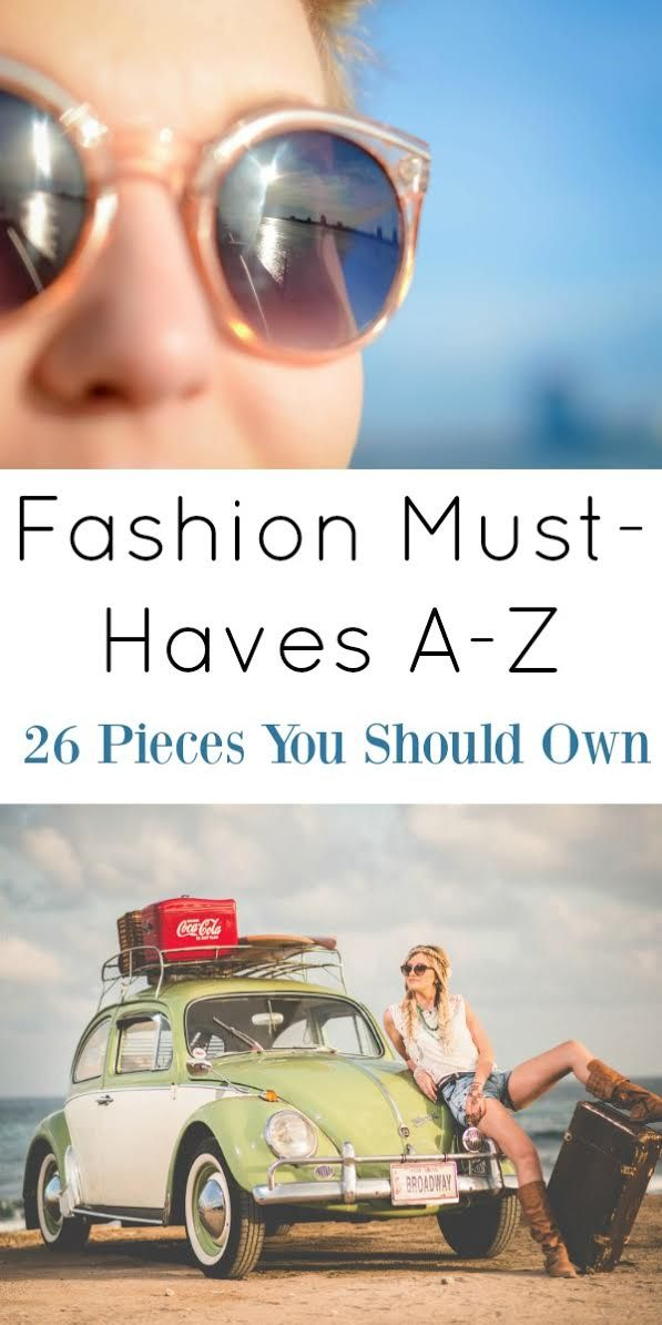 No matter what trends come and go, here are 26 items you should always have in your closet. These fashion pieces are here to stay. Click to see these great tips for Women's Fashion. I love #18!