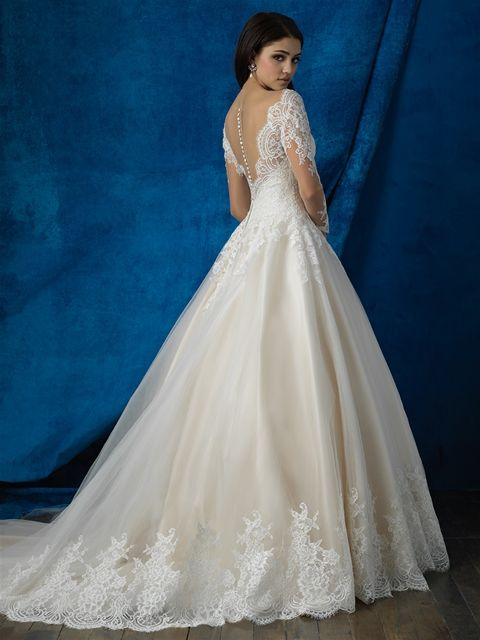 9366 Bridal Allure Bridals Available At Lulu S Boutique