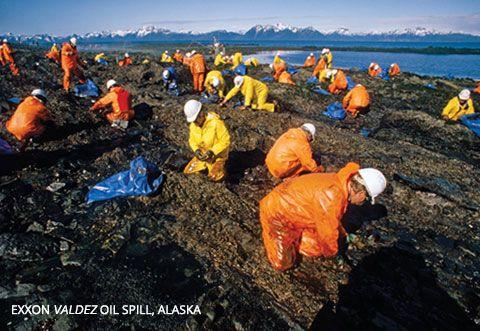 Exxon Valdez oil spill, Alaska