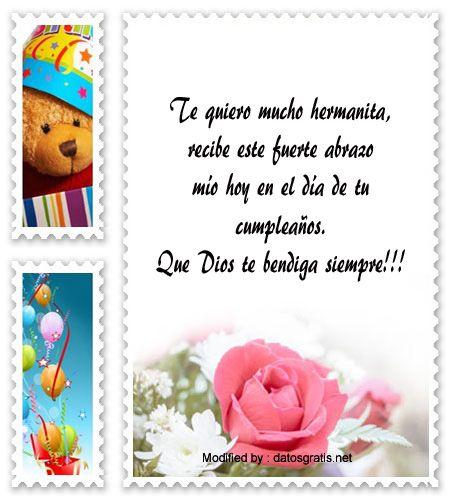 buscar bonitos pensamientos de feliz cumpleaños para enviar por whatsapp a mi hermana,buscar bonitos poemas y tarjetas de feliz cumpleaños para enviar por whatsapp a mi hermana: http://www.datosgratis.net/frases-para-el-cumpleanos-de-una-hermana/
