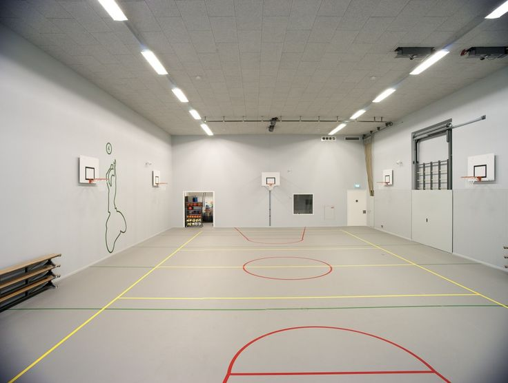 156 best images about indoor basketball court on pinterest for Basketball garage