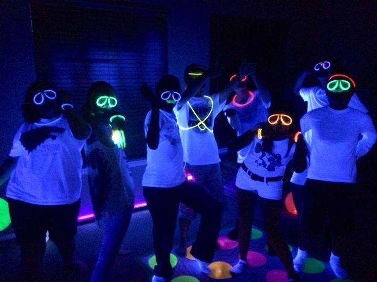 glow in the dark Birthday Party Ideas | Photo 1 of 6
