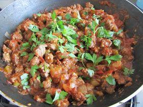 Mijn mixed kitchen: Et sote (Turks stoofgerecht met rundvlees en groenten)