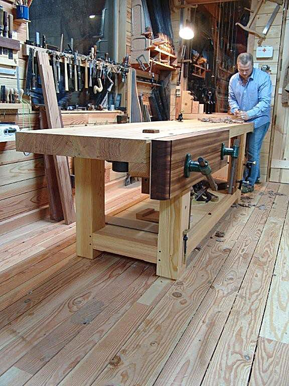 James Oliver's Workbench and Shop - Popular Woodworking Magazine