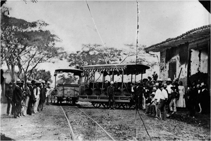 Tranvía de mulas