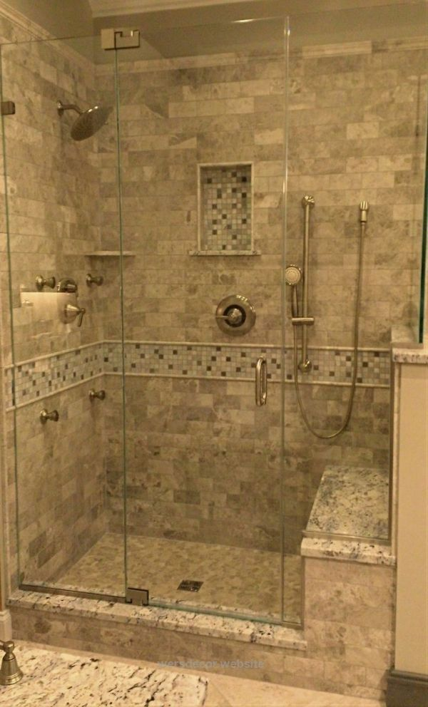 cool Stone Tile Walk-In Shower Design | Kenwood Kitchens in Columbia, Maryland |… cool Stone Tile Walk-In Shower Design | Kenwood Kitchens in Columbia, Maryland | Marble Tile Shower with Stone Mosaic | Walk-In Shower with Seated ..  http://www.wersdecor.website/2017/04/28/cool-stone-tile-walk-in-shower-design-kenwood-kitchens-in-columbia-maryland/