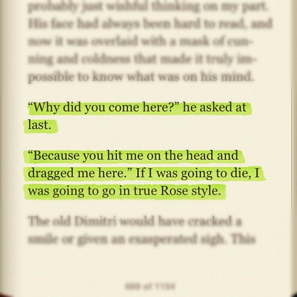 Blood Promise my favorite book!! I love them all but this is my favorite!