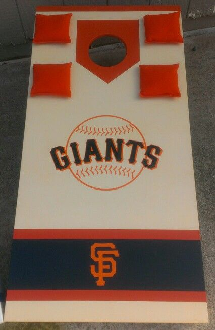SF Giants Cornhole Board. Completed 3/7/14.   JR Custom ...
