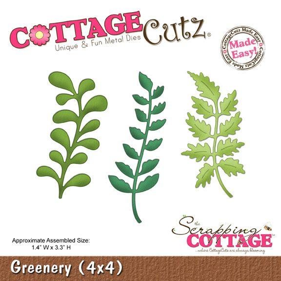 CottageCutz Greenery (4x4)