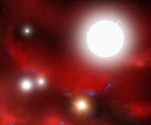 New research finds that the ideal time to study the cosmos was more than 13 billion years ago, just about 500 million years after the Big Bang - the era (shown in this artist's conception) when the first stars and galaxies began to form.