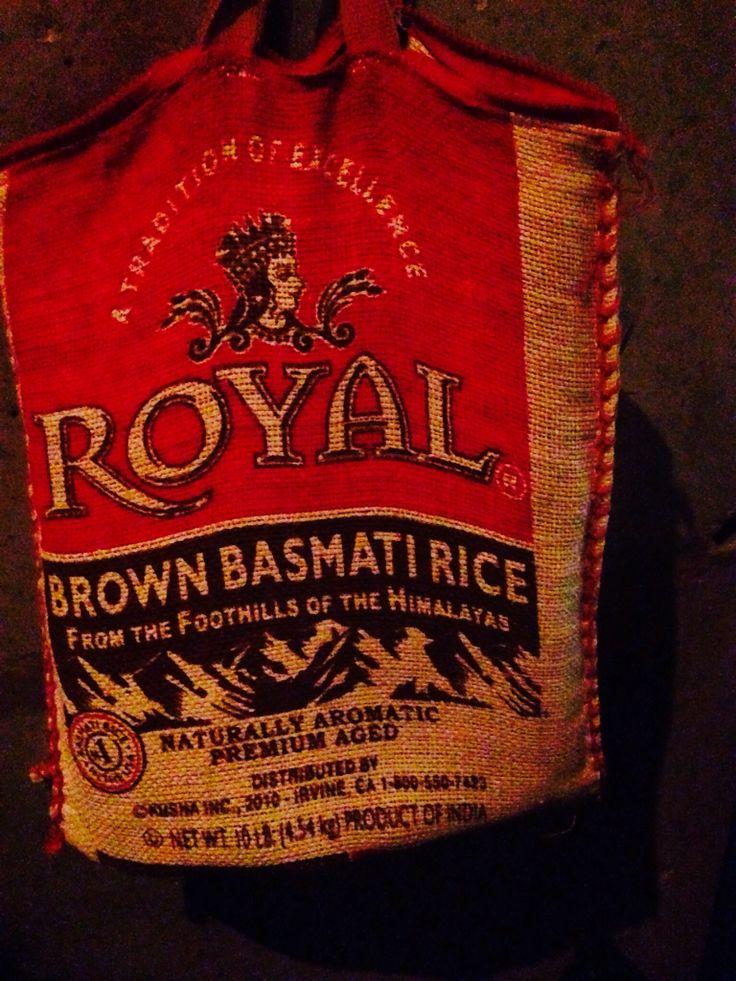 Royal rice bag