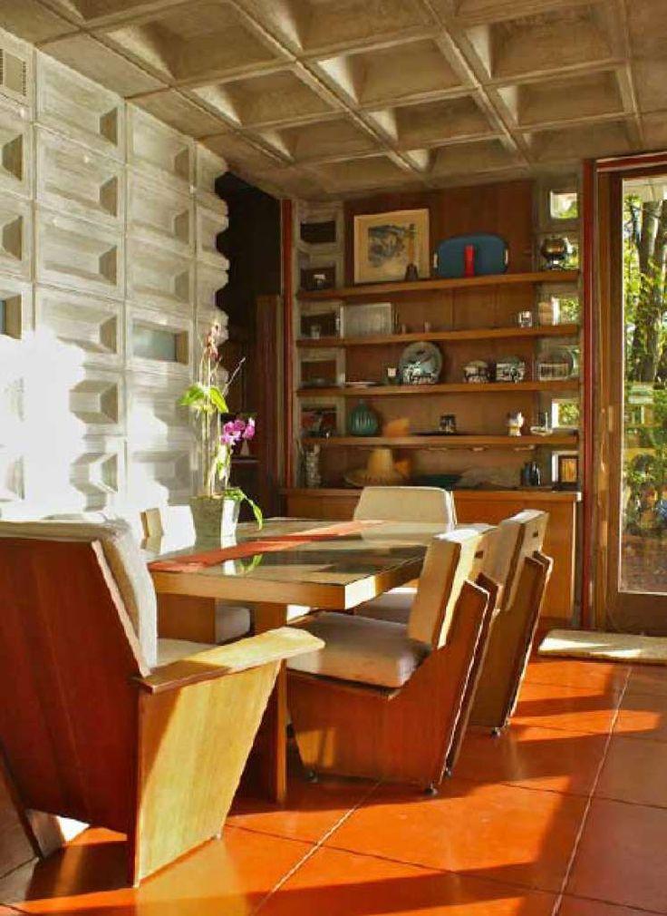 4406 best frank lloyd wright usonian homes images on for Frank lloyd wright flooring